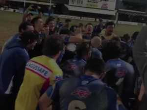 LEAGUE Mens final 2019 Yeppoon victory chant