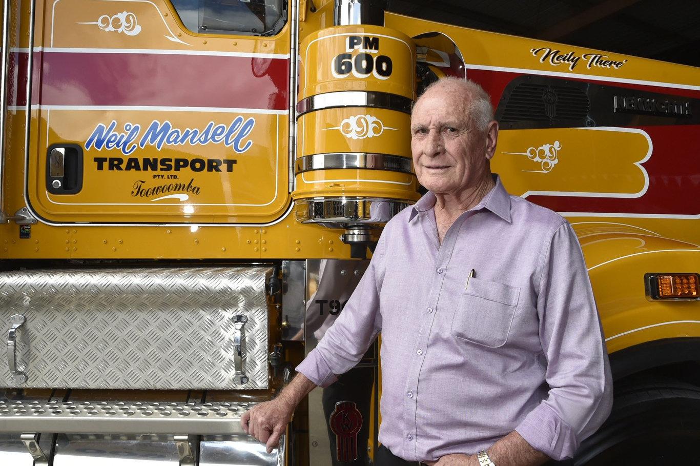 Australian Transport Industry Icon Neil Mansell