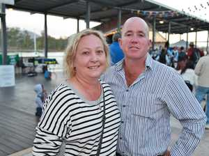 L-R Glenda Lawless-Pyne and Phil Lawless-Pyne at the