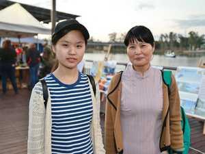 L-R Susie Li and Judy Yang at the Cultural
