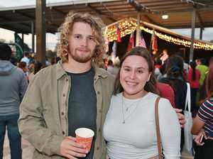 L-R Grant Reddiex and Robyn Sedgwick at the Cultural
