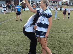 Rockhampton Brothers' women's captain Jess Powell