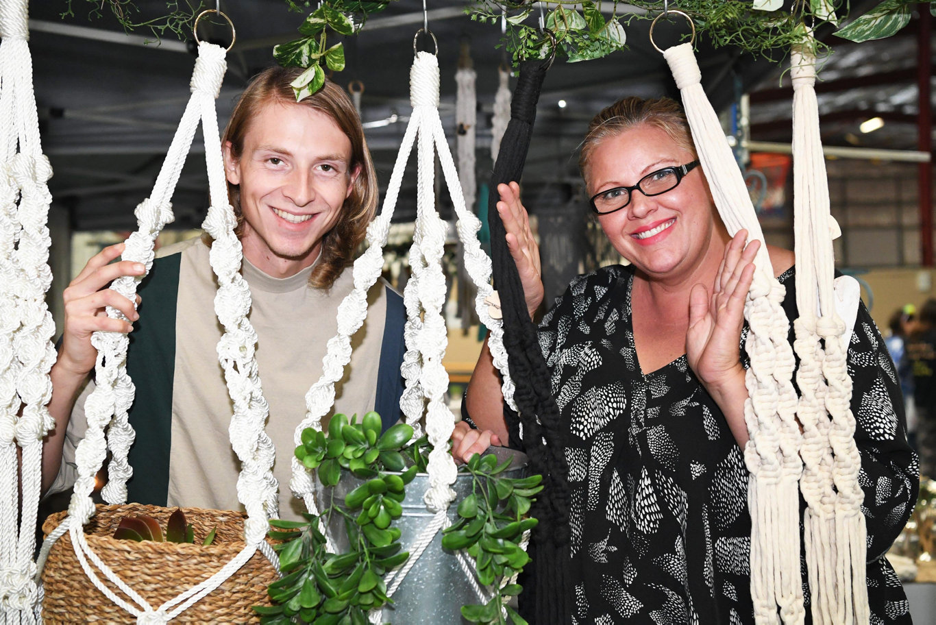 Handmade Expo - Luke and Julie Nash from Stuff n' Candles.