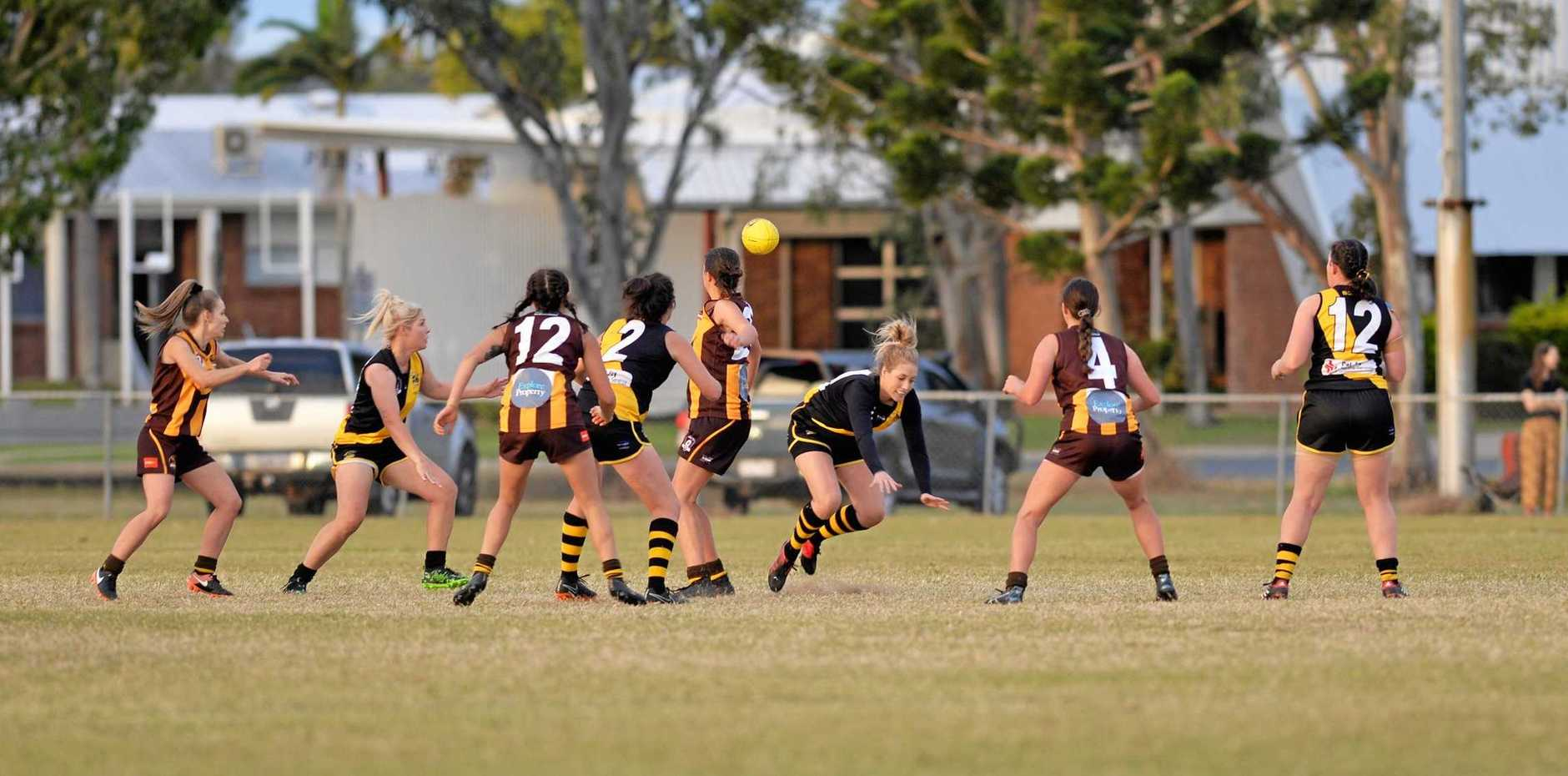 Bakers Creek came from behind in a thriller to defeat Mackay City by two points in the AFL Mackay Women's Qualifying Final at Zeolla Park on Saturday.