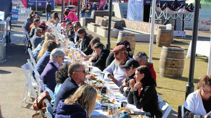 PHOTOS: Bacon crazy breaky fuels festival goers