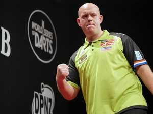 Darts world champ prevails in NZ then issues a challenge