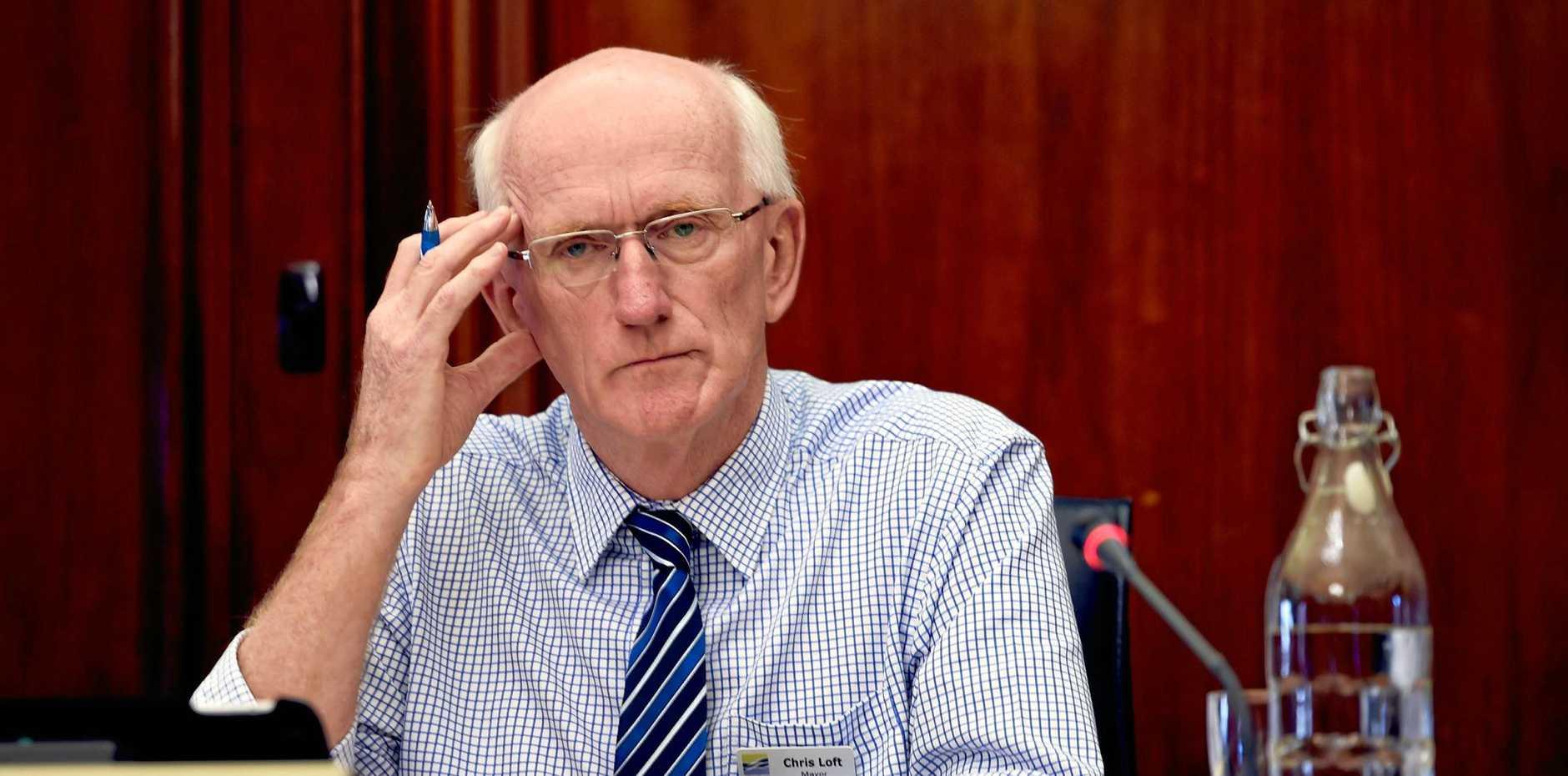 Fraser Coast Regional Council ex-mayor Chris Loft.