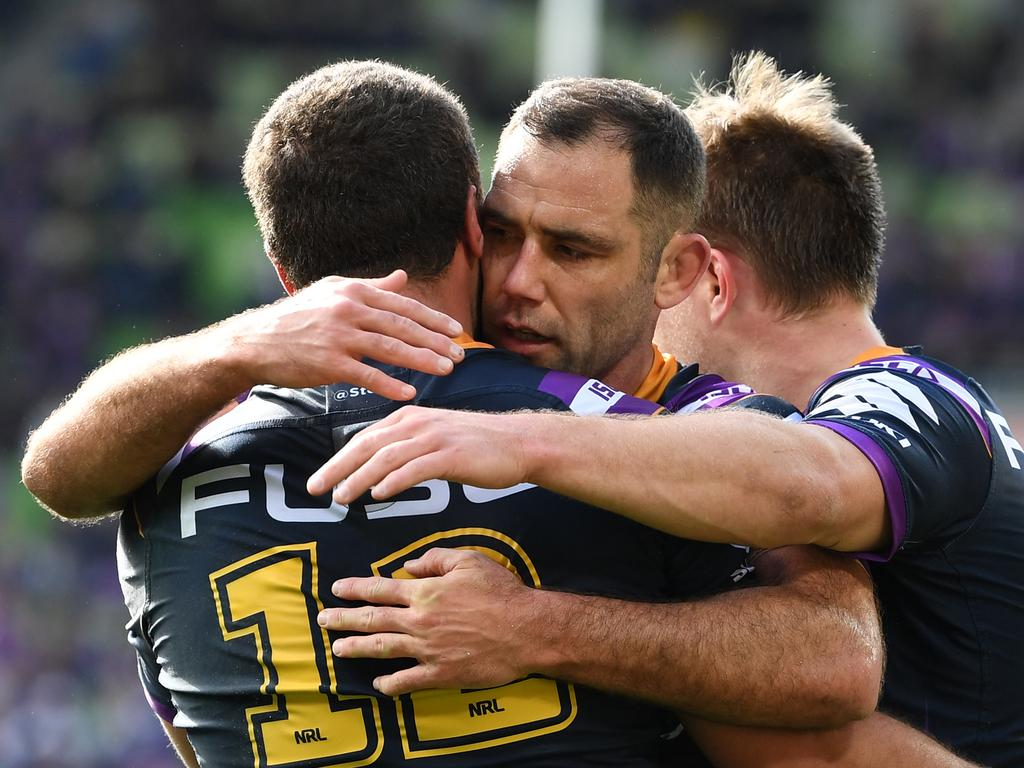That's a relieved looking Cam Smith.