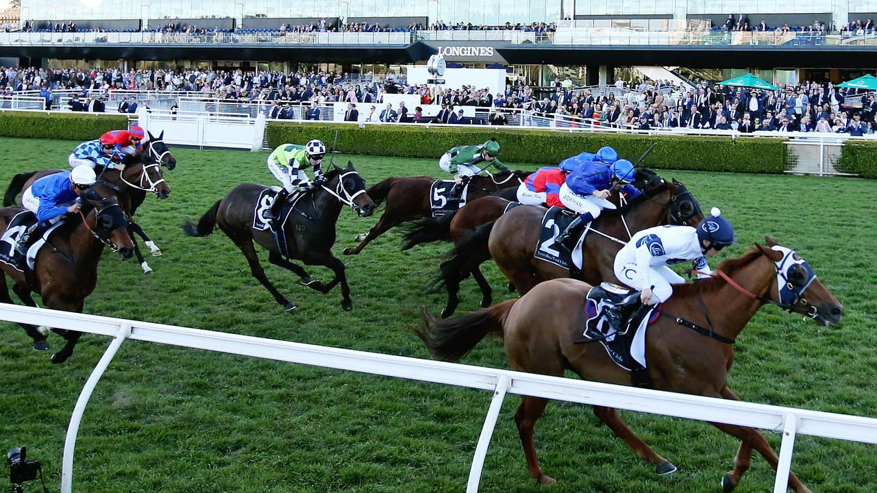 Samadoubt caused a boilover in the Winx Stakes. Picture: Getty Images