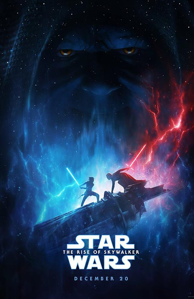 The official poster for Star Wars: The Rise of Skywalker.