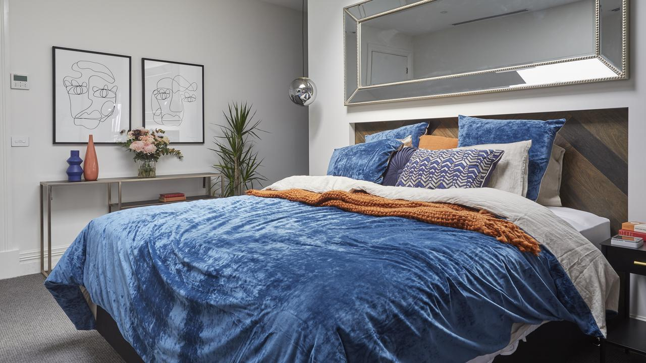 There's a skylight above this bed which you can't see, but it was a winning feature for Darren. Picture: The Block