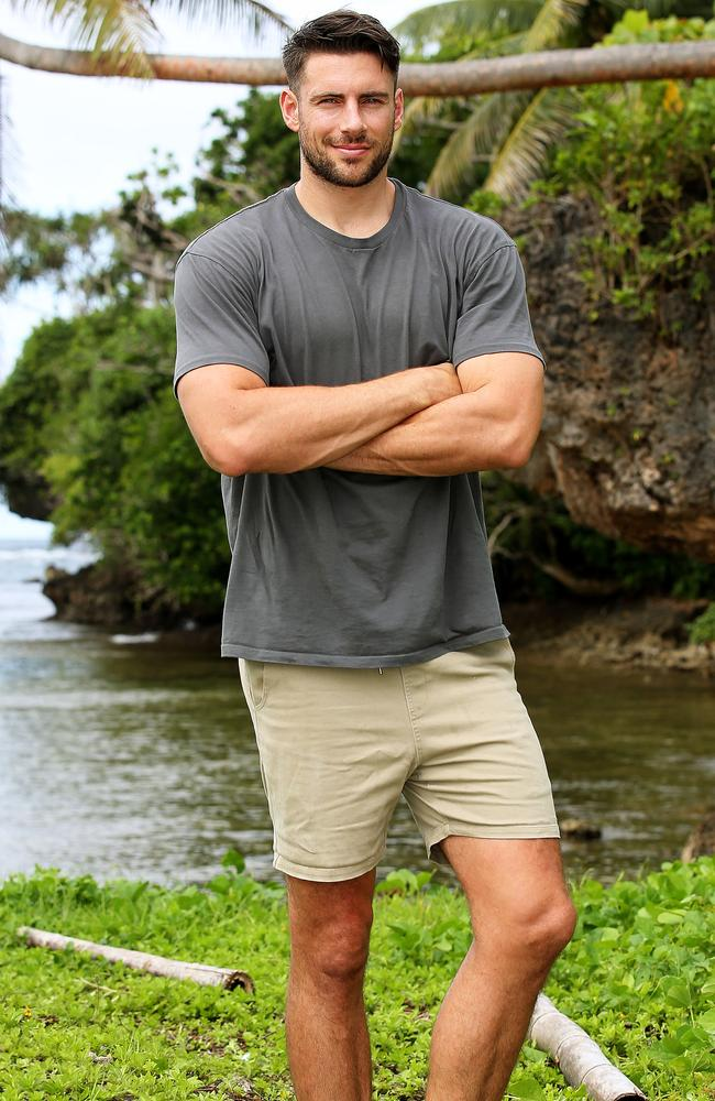 Shaun Hampson was eliminated from Australian Survivor on Sunday night after 31 days filming the show. Photo: Nigel Wright, Channel 10.