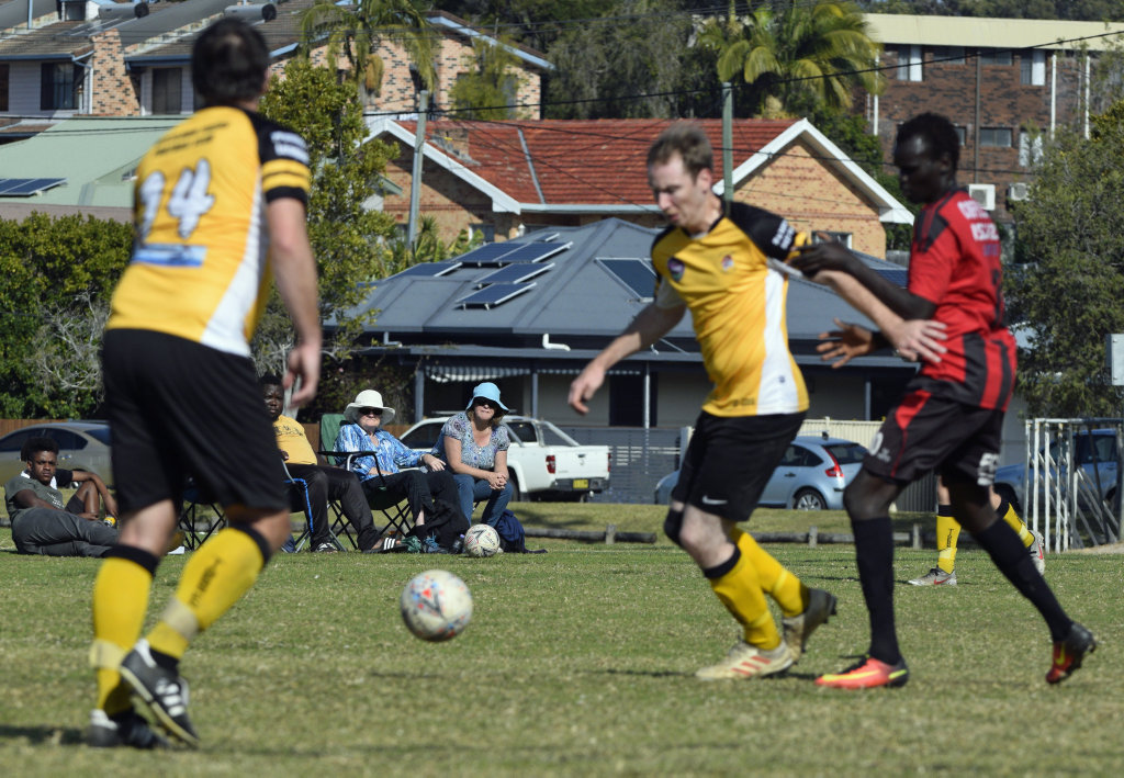 Image for sale: Coffs City United Lions v Westlawn Tigers at Maclean St.