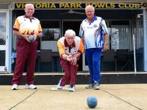 Garry Simpson, David Hatfield and Garry Walker at the
