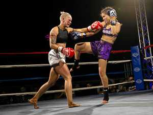 Female fighters forge piece of sporting history in Rocky