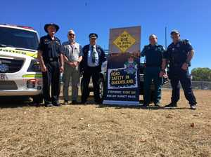 Serious crash same day police launch road safety campaign