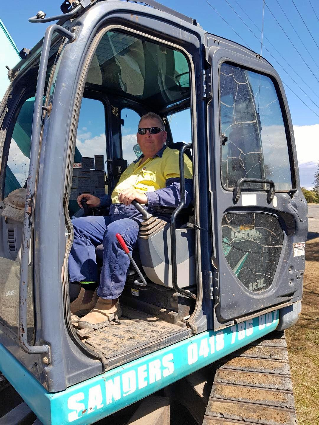 Q and A: Murgon Rotary president and bobcat operator, Heath Sander shares his thoughts.