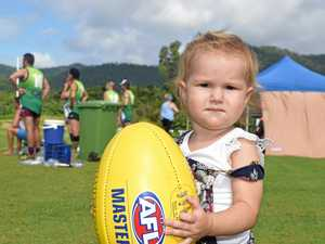 Young stars make their mark on Mackay Aussie rules