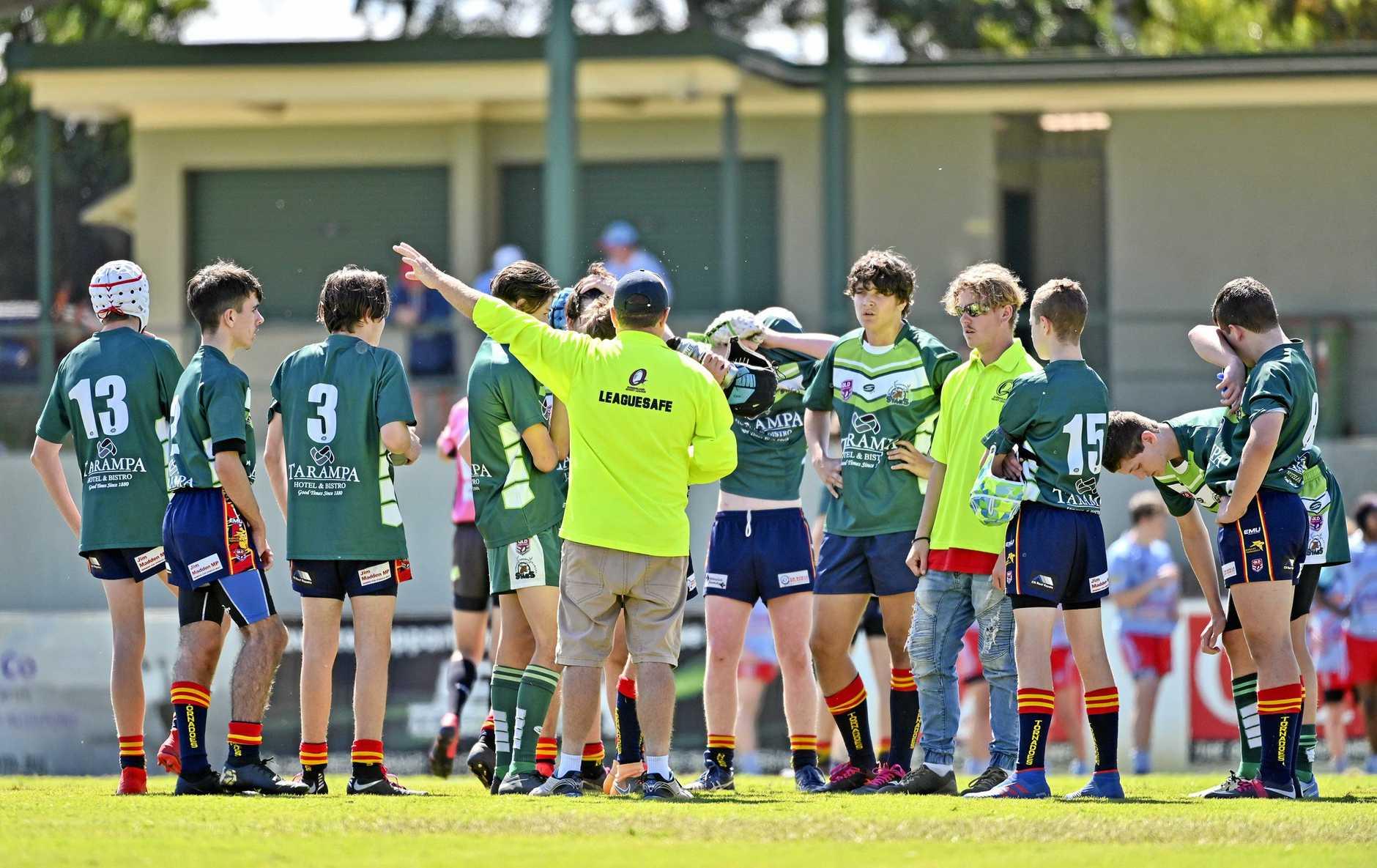 U15 Junior Development League Grand final between Swifts and Karalee/Lowood.