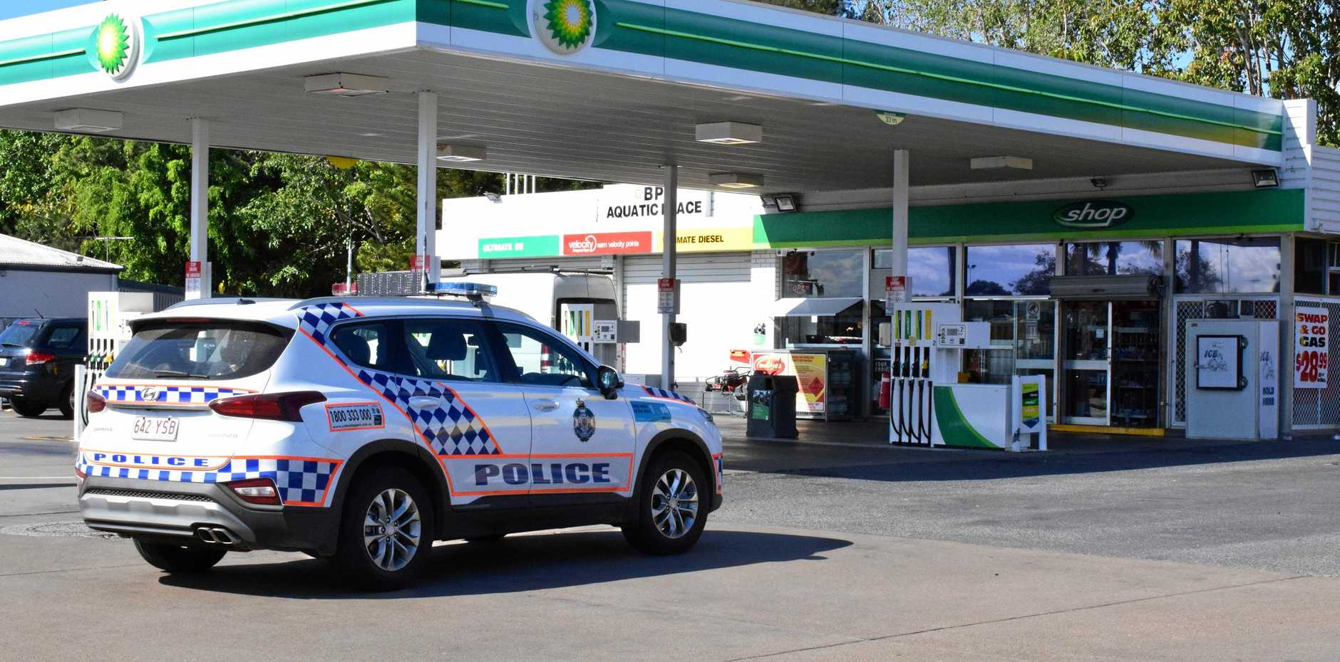 Police are investigating an armed robbery of a North Rockhampton fuel station.