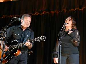 GALLERY: Rising Monto singer performs duet with music legend