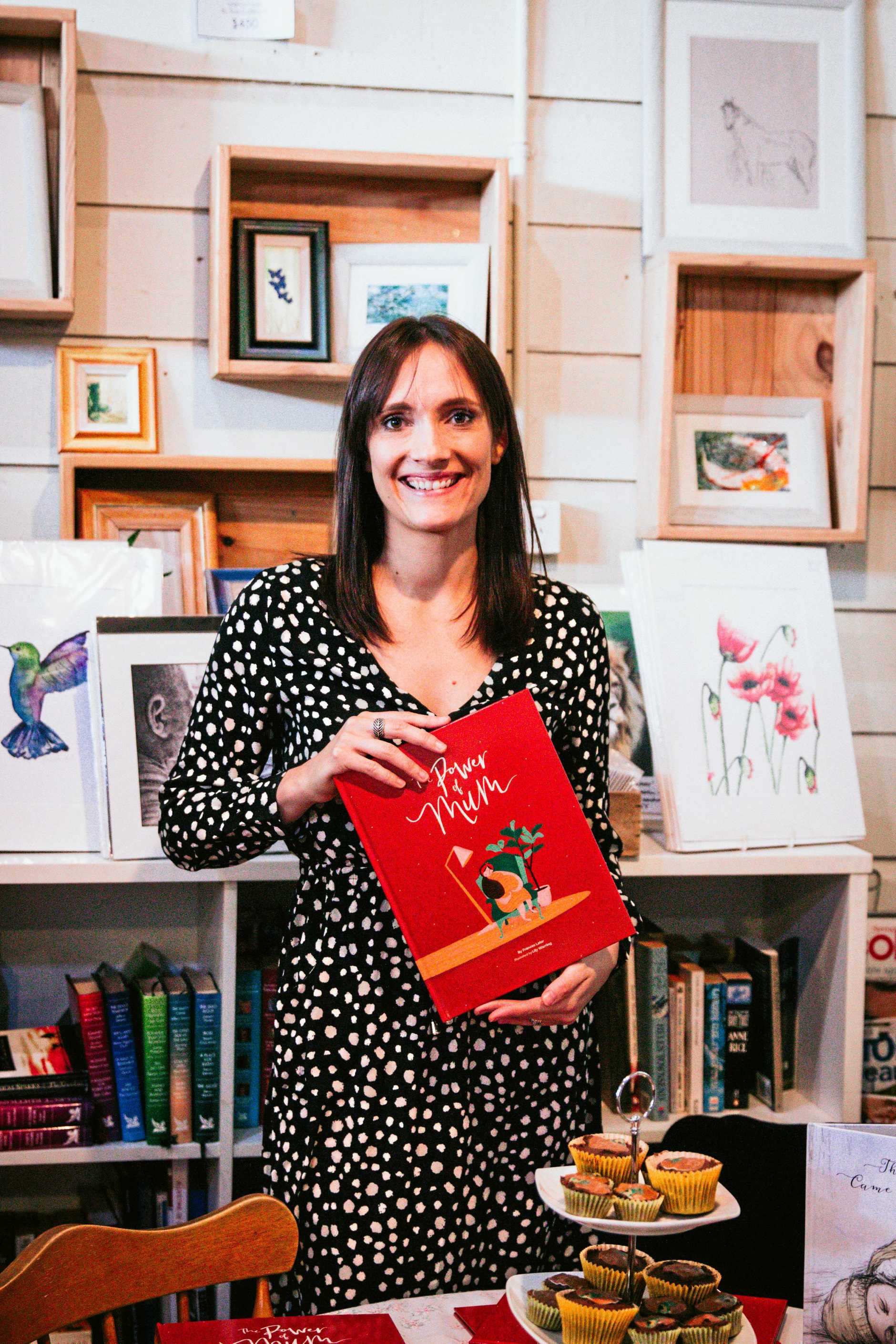 NEW CHAPTER: Frances Lalor recently launched her second book in Boonah.