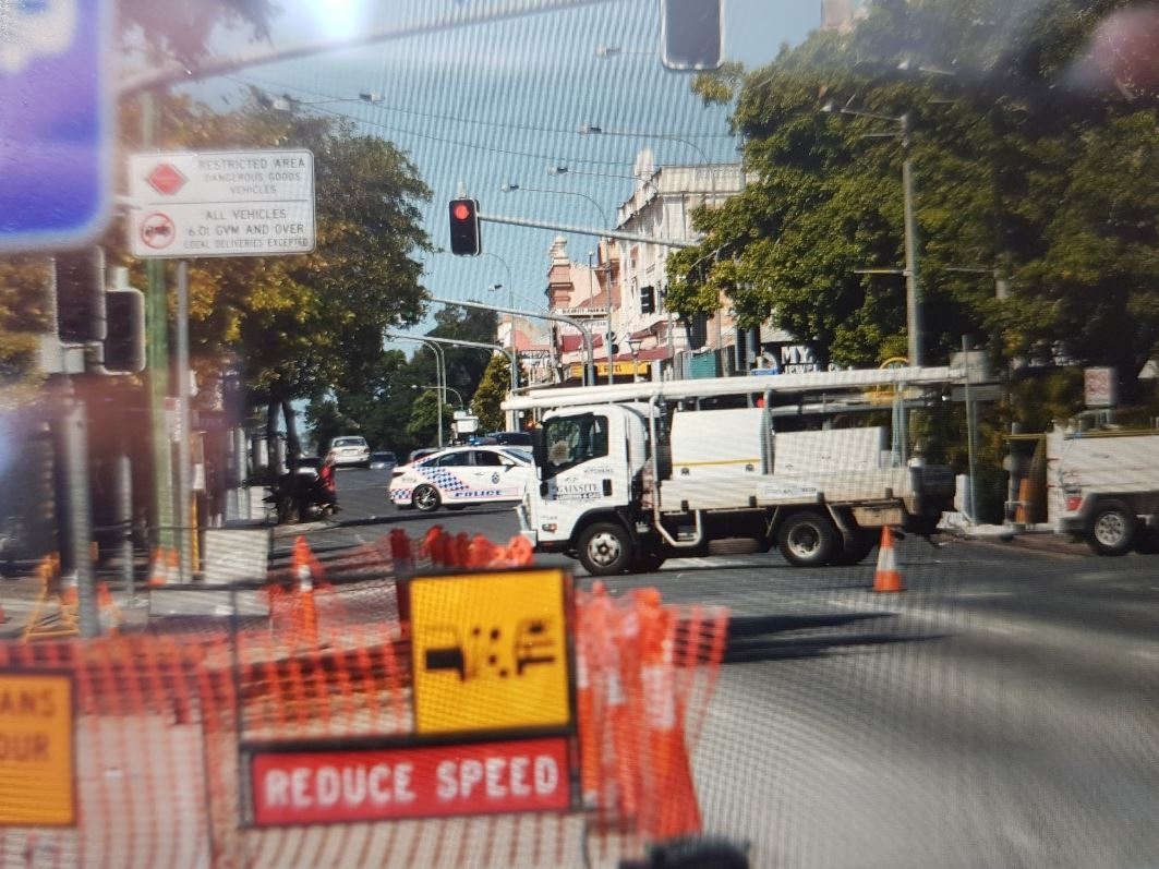 BUSINESSES are closed and traffic is being diverted as emergency crews attend to a major gas leak in Maryborough's CBD.