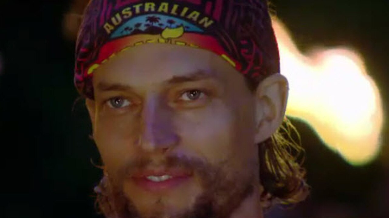 At tribal council — before David realised a massive target was on his back.