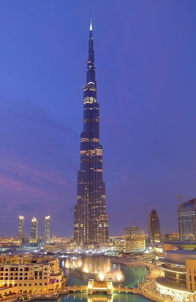 The asteroid is almost as wide as the world's tallest building, Dubai's Burj Khalifa, is high. Picture: Supplied
