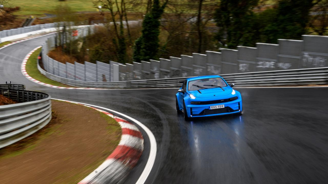 Lynk & Co 03 Cyan Concept at Nurburgring
