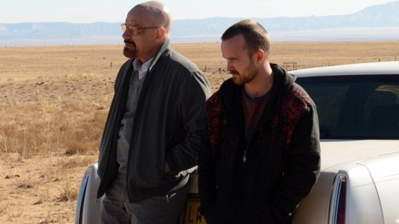 The original Breaking Bad TV series starred Bryan Cranston and Aaron Paul.
