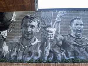 Hughes and Inglis immortalised in touching tribute