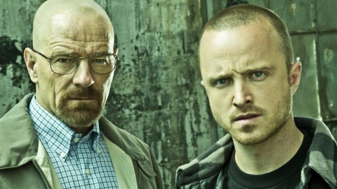 Walter (Cranston) and Jesse (Paul).