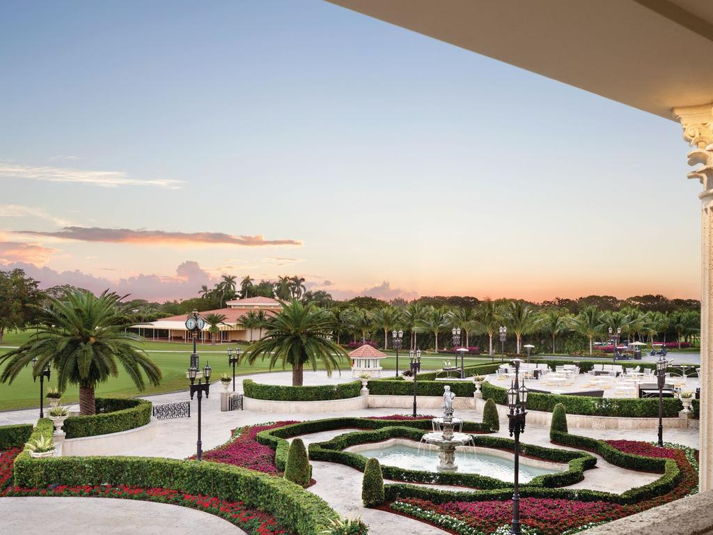 The Miami resort boasts conference and meeting facilities, accommodation and a spa and restaurants. Picture: Trump Doral Resort.