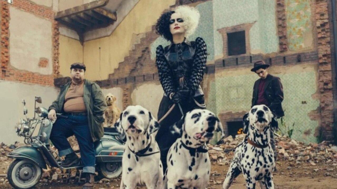 Emma Stone plays the titular character in Cruella.