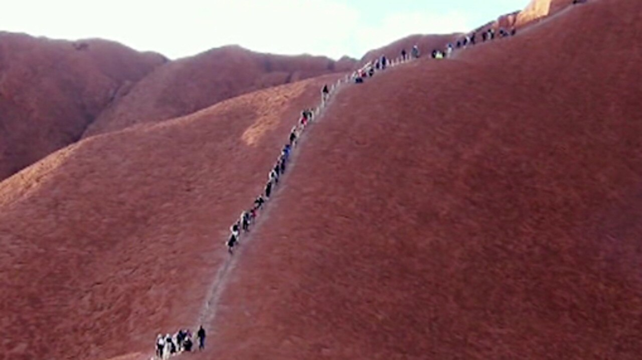 Climbing Uluru won't be possible in two weeks' time and Pauline Hanson isn't happy about it.