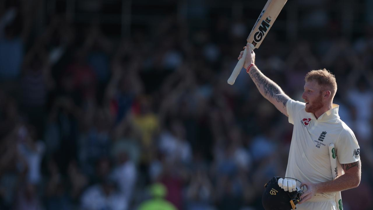 Declining to celebrate his personal milestones, Stokes acknowledge the crowd once the job was done.