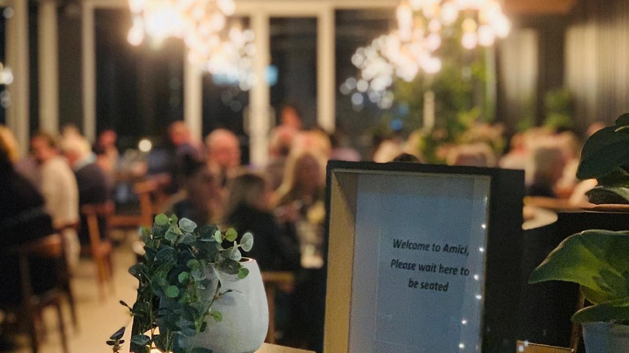 Caloundra's Amici Restaurant Pizzeria. Photo: Contributed