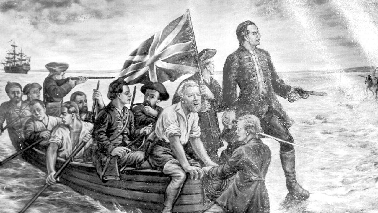 Captain James Cook began his voyage to explore 'Terra Australia incognita'  in 1768