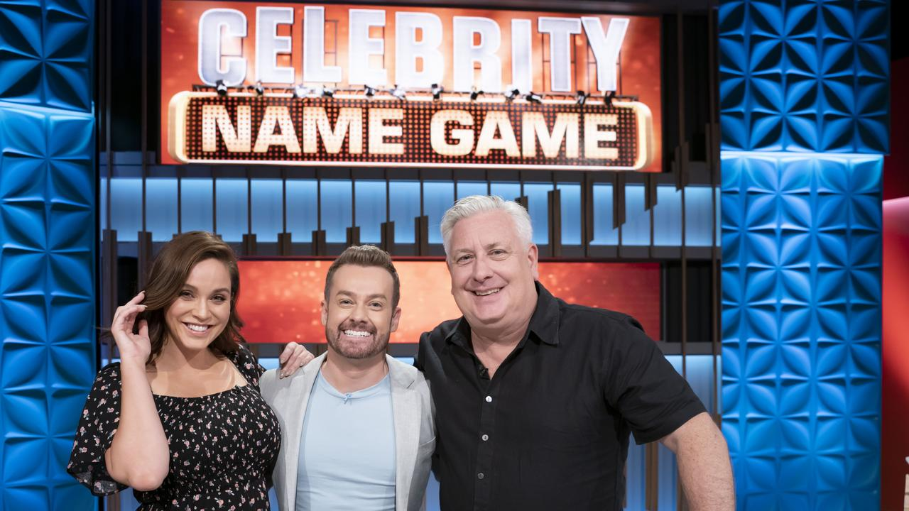 Dicko appears on Celebrity Name Game tonight with Vicky Pattison.