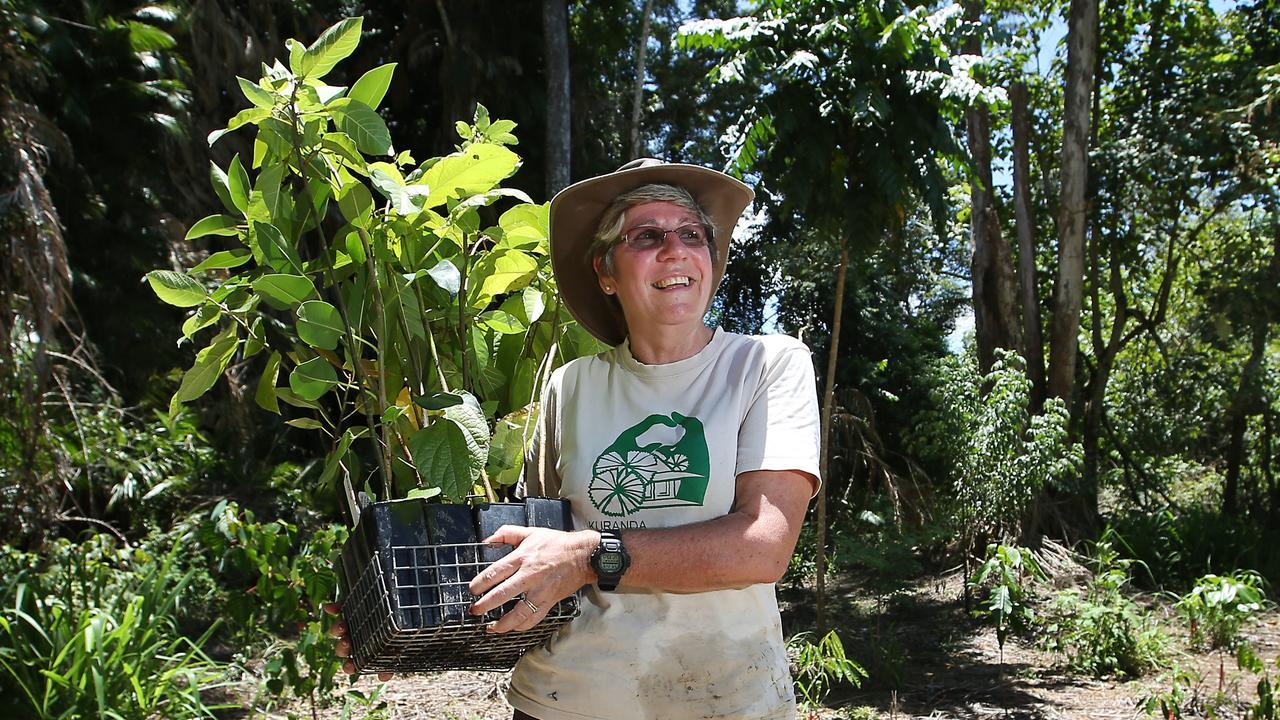 Kuranda Envirocare president Cathy Retter