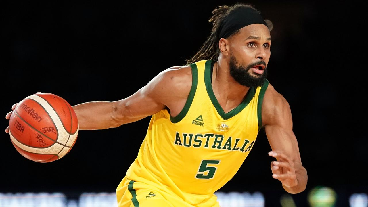 Patty Mills dominated Team USA on Saturday. Picture: AAP