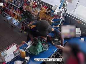 Two men rob a North Rockhampton servo
