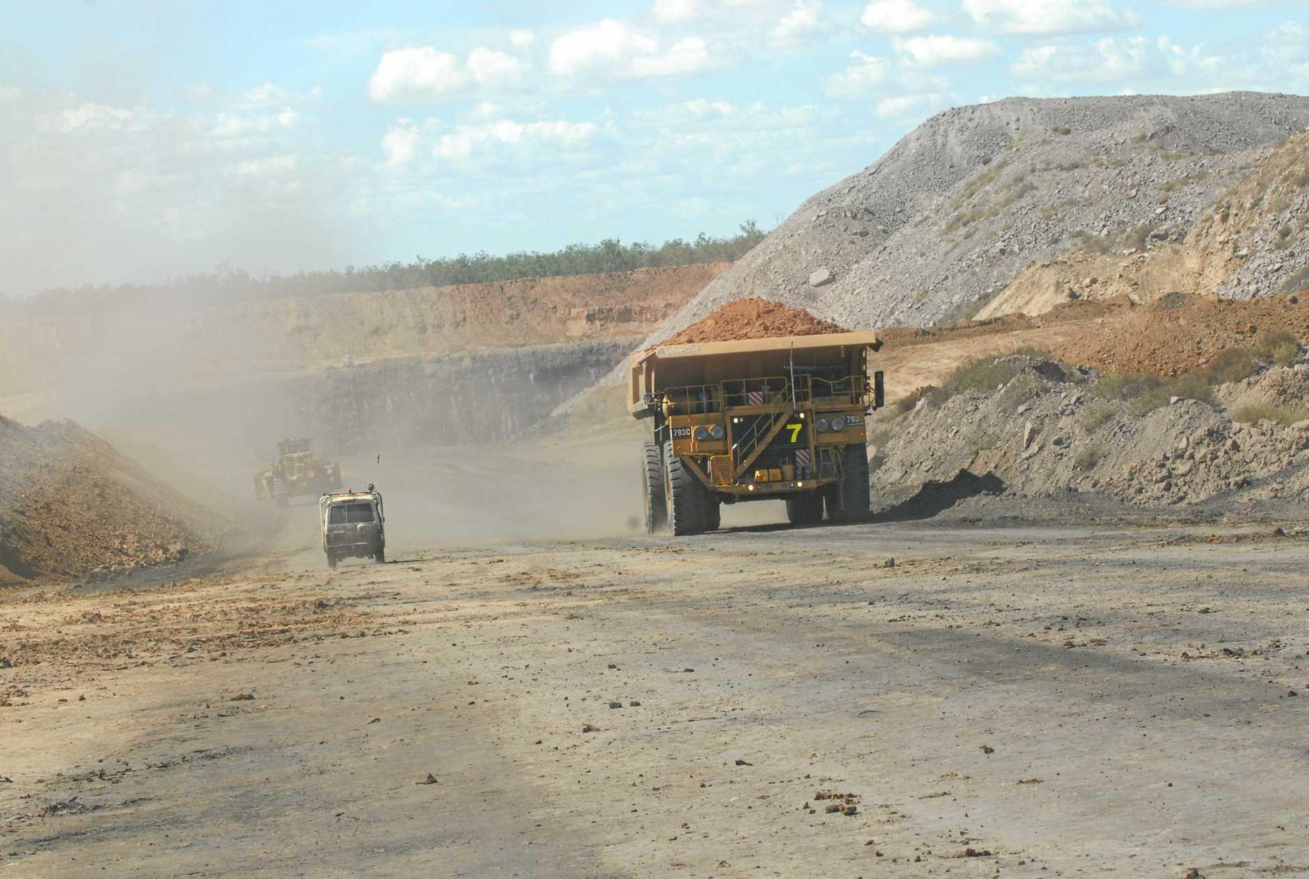 Mining Moranbah.  Photo Peter Holt / Daily Mercury