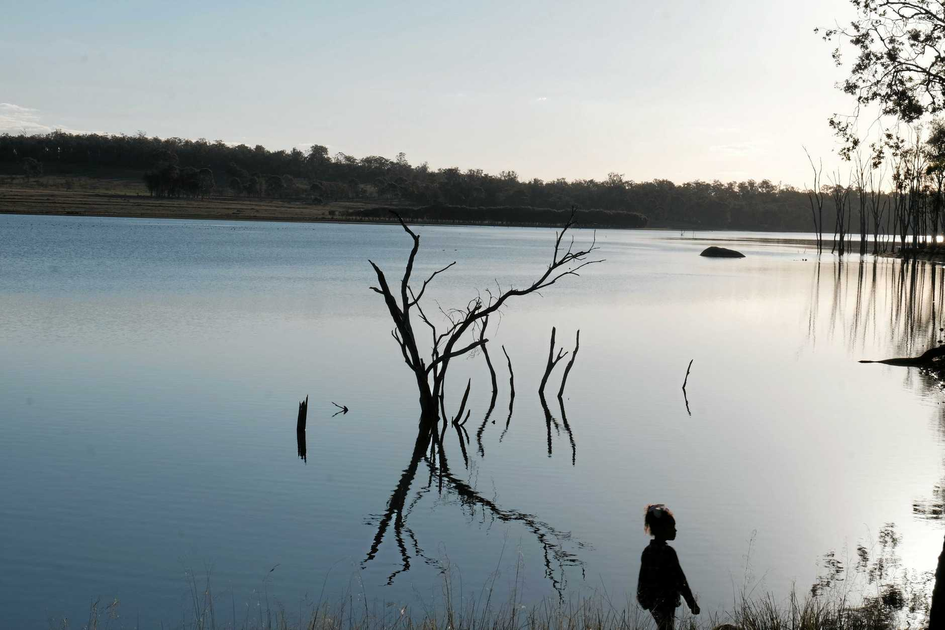 Gordonbrook Dam is a popular spot for day trips in the South Burnett.
