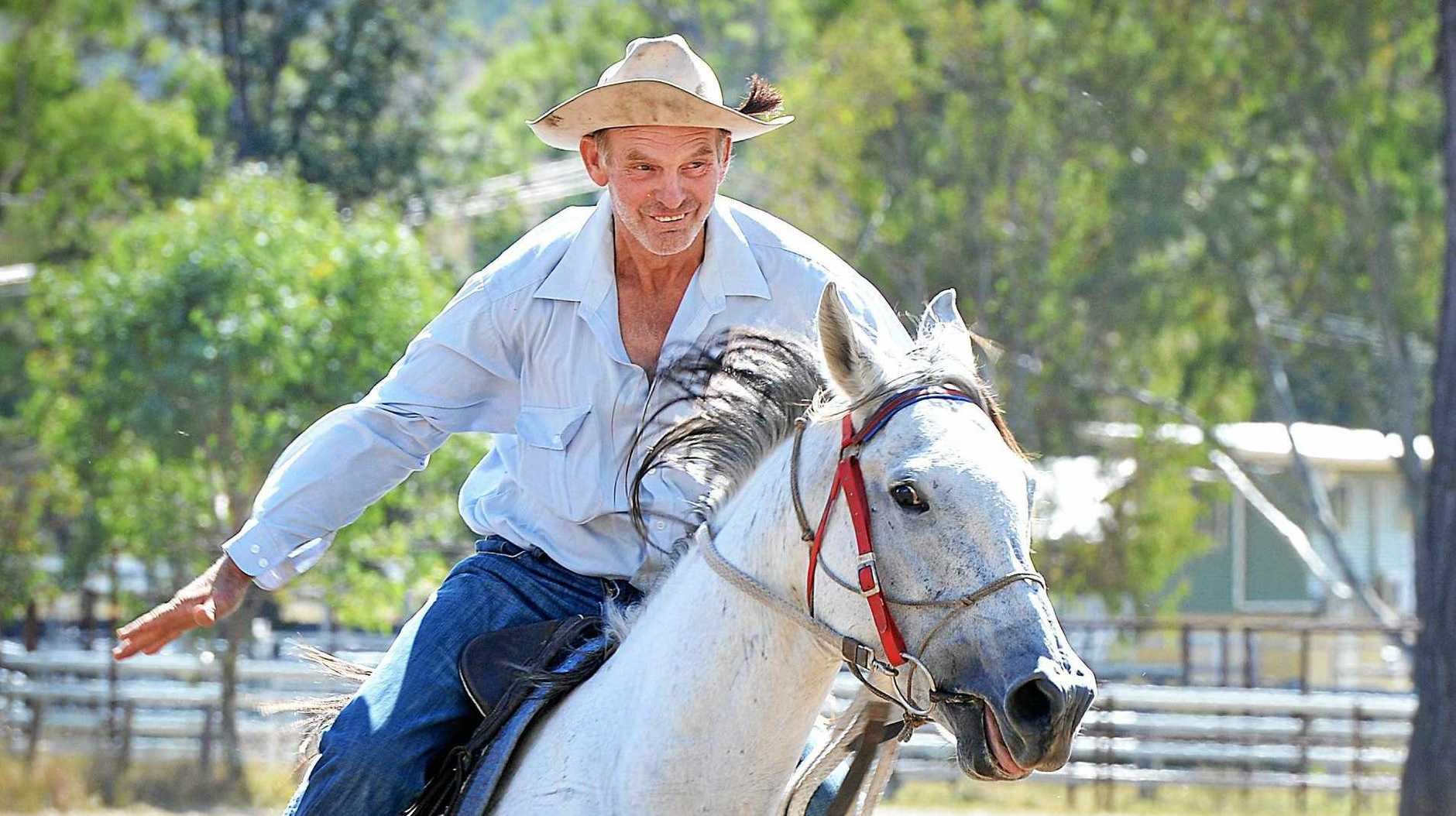 RULED OUT? A policy on naming honours is being considered by the council following a pitch to name the new Kilkivan equestrian building after the late Vern Berry.