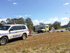 UPDATE: Two airlifted after head-on crash on Bruce Hwy