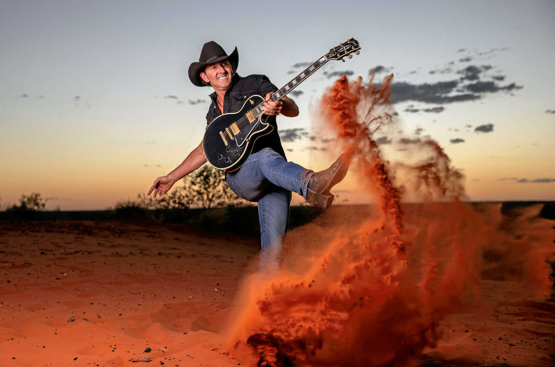Country music fan, Carmel Kilpatrick is one of five lucky residents who have won a double pass to see country music star, Lee Kernaghan at Kingaroy Town Hall on September 5.
