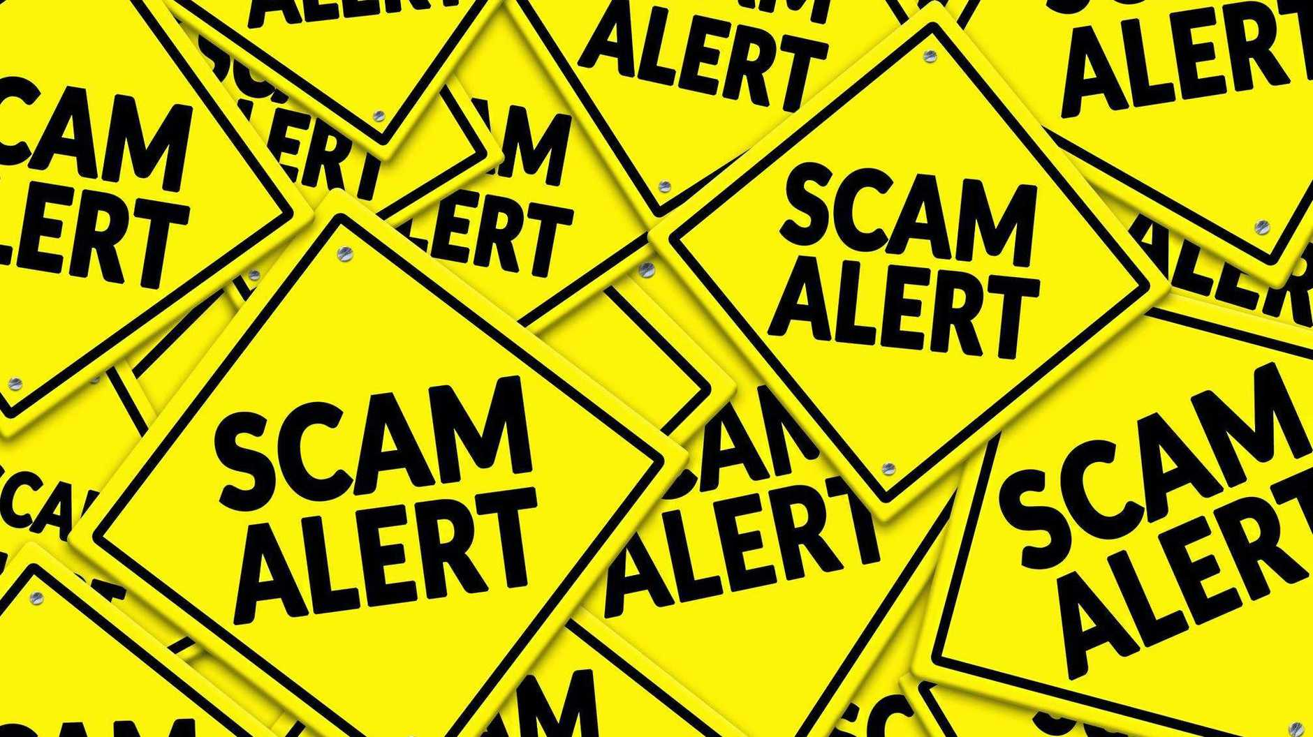 A resident has lost more than $869 after falling for an email scam.