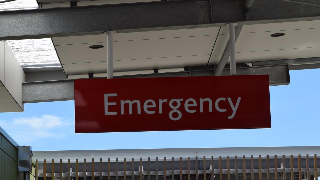 Sunshine Coast University Hospital emergency department.